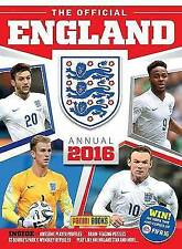Panini, Official England FA Annual 2016 (Annuals 2016), Hardcover, Very Good Boo