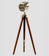 Material Lasting Bright Rattan Tripod Floor Lamp For Living Room