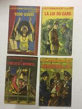 Le Petit Roman Policier Complet - Ferenczi - 1938/42 - Collection complète - BE
