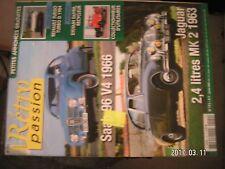 ** Rétro Passion n°192 Jaguar 2.4 litres MK 2 1963 / Saab 96 v4 1966