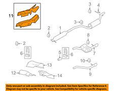 FORD OEM 00-11 Focus 2.0L-L4 Exhaust-Heat Shield 7S4Z5411165A