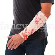 Halloween 2m Bloody Bandage Roll Nurse Fancy Dress Costume Accessory