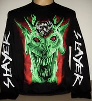 Slayer Metal Band Root Of All Evil Long Sleeve T-Shirt Size S M L XL 2XL 3XL New