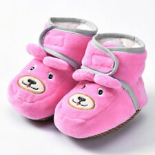 Newborn Baby Girl Boy Shoes Cartoon Soft Walkers Casual Home Shoes Floor Boots