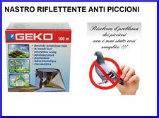 Repellente Dissuasore per Uccelli Nastro Riflettente Scaccia Spaventa Piccioni
