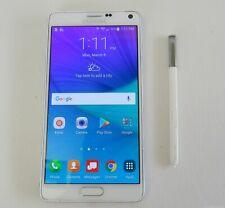 Samsung Galaxy Note 4 (32 GB, Verizon) Smartphone White SM-N910V *As Is*