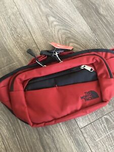 New The North Face Bozer Hip Pack II Fanny Waist Bag   Red