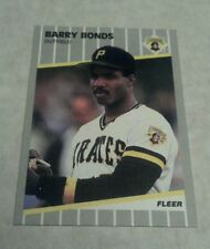 BARRY BONDS 1989 FLEER