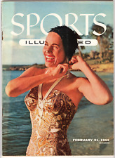 Sports Illustrated - February 21, 1955 (no label)