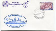 1985 Deutsche Antarktisexpedition PFS Polarstern Bremehaven Polar Cover