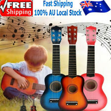 21'' Kids Wood Acoustic Guitar 6 String Music Instruments Toys Children Gift