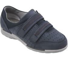 Cosyfeet Extra Roomy Samba Womens Shoe Sapphire Blue (6E Width) UK Sizes 5.5