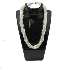 Multi Strand Glass Pearl Necklace - Brides & Maids,Wholesale,Bridal,Job Lots UK