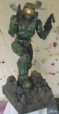 "HALO 2 - MASTER CHIEF 38"" PROMO DISPLAY STATUE w PROFESSIONAL & PAINT Rare 2004"