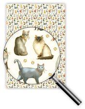 *QUIRE*Exclusives*Geschenkpapier 50 x 70cm *Katzen*cats*