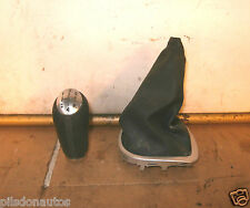 RENAULT CLIO DYNAMIQUE SX 2007 5 SPEED MANUAL GEAR KNOB AND GEARSTICK GAITER