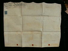 1813 Vellum Assignment for Property and Land at Henbury, Bristol