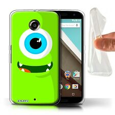 STUFF4 Gel/TPU Case/Cover for Motorola Nexus 6/Monsters