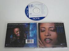 CASSANDRA WILSON/BLUE NIGHT 'TIL DAWN(BLUE NOTE CDP 0777 7 81357 2 2) CD ALBUM