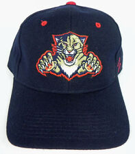 FLORIDA PANTHERS BLUE  NHL ZEPHYR SNIPER VINTAGE  FITTED SIZED Z CAP HAT NWT!