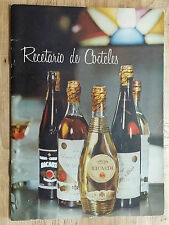 1950's VERY RARE CUBAN COCKTAIL RECIPE BOOK by RUM BACARDI