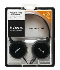 Sony MDR-ZX100 Diadema Exterior Auriculares - Negro