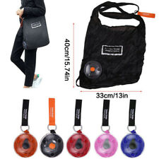 Disc Shopping Bag Foldable  Eco Reusable Shoulder Large Capacity Bag