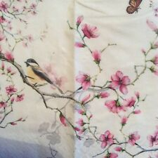paper napkins decoupage x 2 birds and blossom 21cm