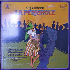 OFFENBACH: La Perichole-SEALED1977 2LP BOX Regine Crespin
