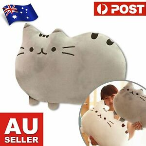 Large Cat Pillow Cushion - Plush Kitty Pillow for Cat Lovers