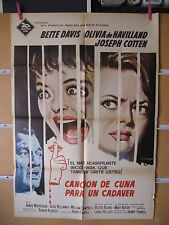 A899 CANCION DE CUNA PARA UN CADAVER BETTE DAVIS OLIVIA DE HAVILLAND