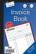 Invoice Book Numbered Cash 1 - 40 (CARBON REQUIRED) A5 size