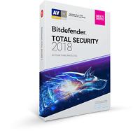 Bitdefender Total Security Multi-Device 2018 10 Users 1 Year Key 100%GENUINE