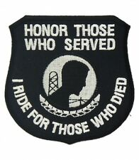 POW MIA Honor Those Who Served Patch, Military Patches