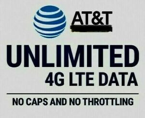 AT&T Unlimited 4G LTE Data Account - You own it $20.00 Monthly UNIQUE!