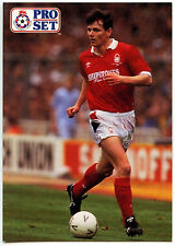 Lee Glover Nottingham Forest #307 Pro Set Football 1991-2 Trade Card (C364)