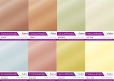 Centura Metallic Single Sided single Colour 10 Sheet Pack - 300GSM
