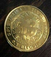 0.10 BTC Lealana -SIlber- Bitcoin Münze mit Hologramm (private key) (ungeladen)