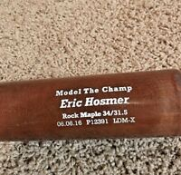 Eric Hosmer Game Issued Baseball Bat KC Royals SD Padres San Diego 35