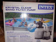 Intex Krystal Clear Sand Filter Pump System SF80110-1 1600-GPH