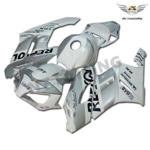 UK Injection Silver White Fairing Set Fit for Honda 2004-2005 CBR1000RR o005