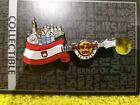 Hard Rock Cafe *Antwer* FLAG OVER CITY GUITAR PIN MINT WITH BACKING CARD