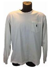 Polo Ralph Lauren Mens Polo Shirt Button Down Long Sleeve Collar Cotton Slim S