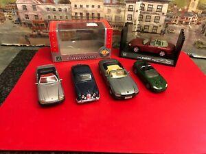 Bundle of Jaguar 1:43 / 1:40 scale die cast model cars