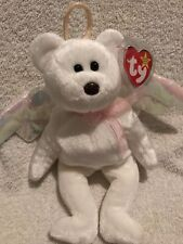 """Rare Beanie Babies  """"Halo"""" With A Brown Nose"""