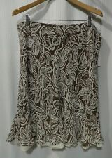 NWT Allison Taylor Size L Lined Skirt