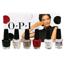 OPI Mini Nail Polish Set Chic Is In The Air Nail Varnish red Black White Taupe