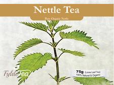 *Organic Nettle Herbal Tea* 75g Loose Leaf. FyldeTea