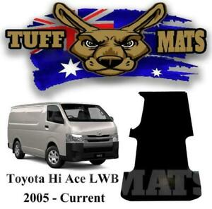 Tuff Mat Ribbed Rubber Van Cargo Area Mat Hi Ace Toyota Hiace 2005-2020
