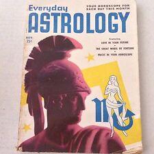 Everyday Astrology Magazine Great Wheel Of Fortune November 1951 061717nonrh
